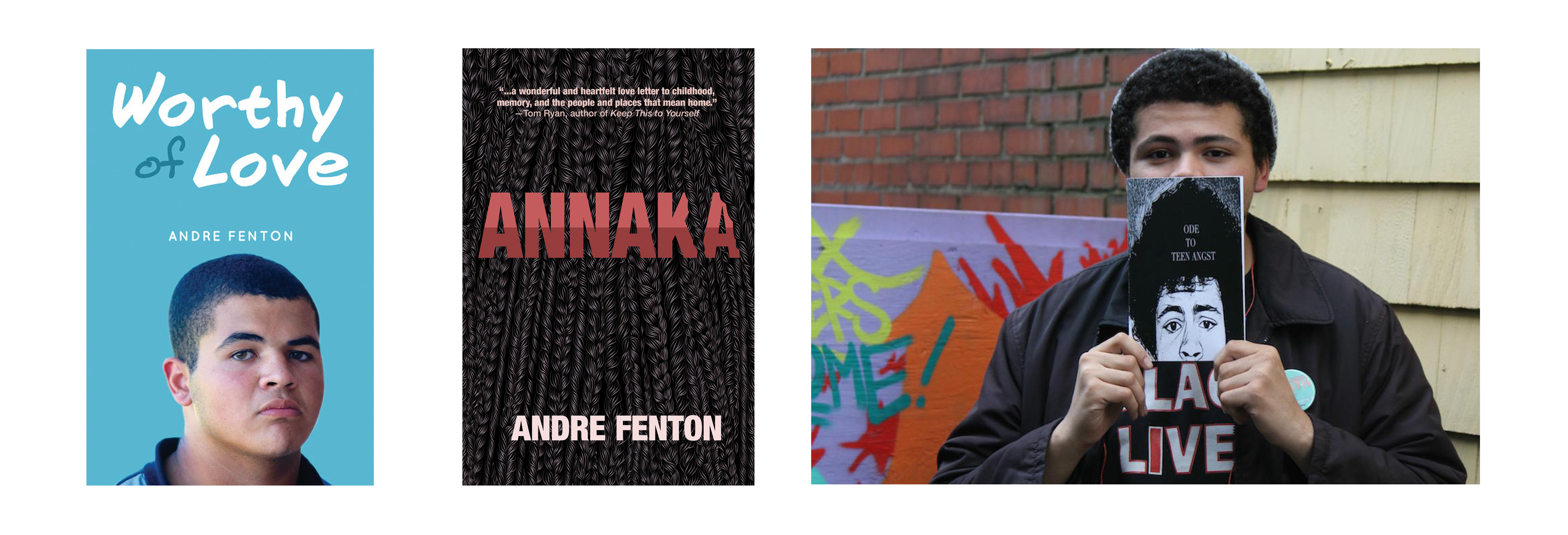 Books by Andre Fenton (available through Bookmark Halifax)