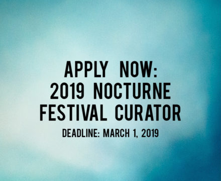 [now closed] JOB POSTING: 2019 Festival Curator