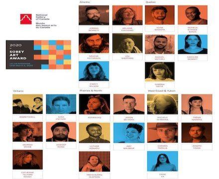 Congratulations Sobey Art Award Longlist Artists