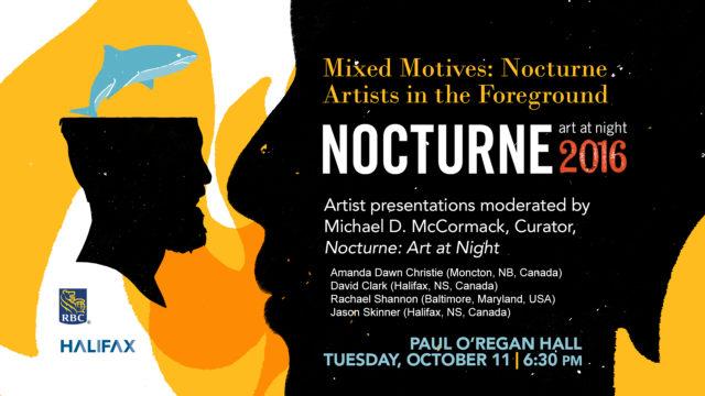 Oct 11: Nocturne Artist Talk Series