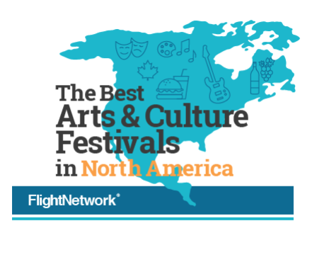 Nocturne named one of the 40 best Arts & Culture Festivals in North America!